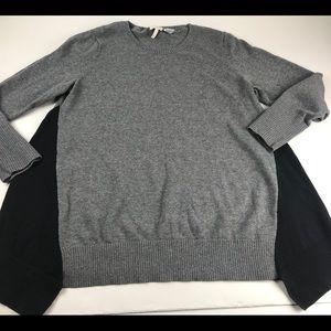 LOGO Lori Goldstein Cotton Cashmere XL Sweater